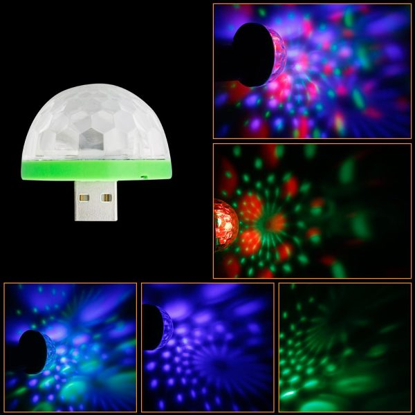 USB Mini Mushroom Light