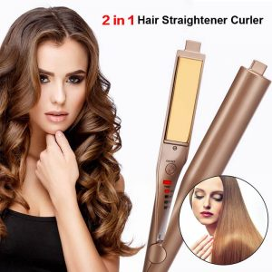 Professional Hair Curling & Straightening Iron