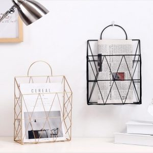 Multi-use Metal Shelf Storage Basket