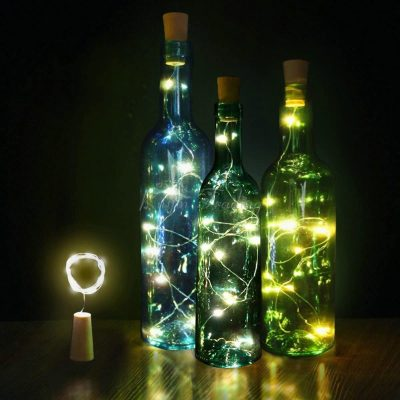 DIY Bottle Lights