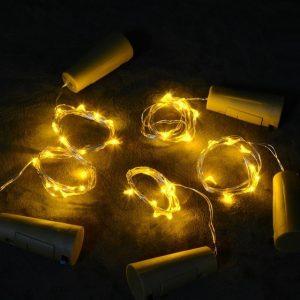 DIY Bottle Lights