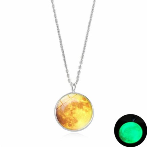 Charmed Moon Necklace