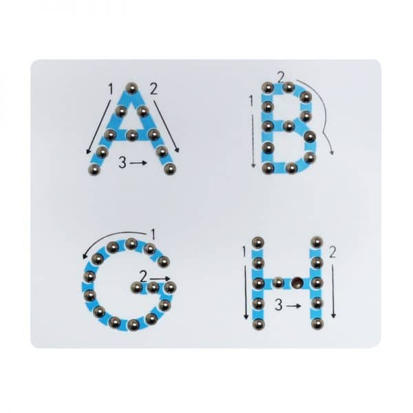 Magnetic Alphabet Learning Board
