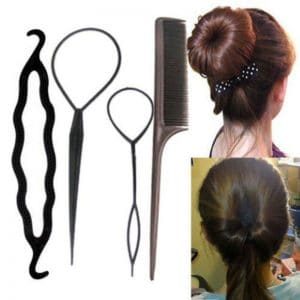 4pcs Hair Styling Kit