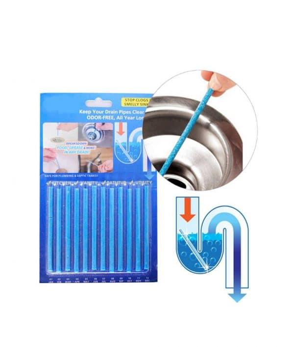 Sani Sticks™ 12-Pack Drain Deodorizer