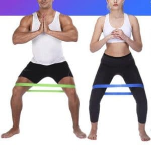 FITBAND™ : Latex Fitness Resistance Bands (Set of 5)