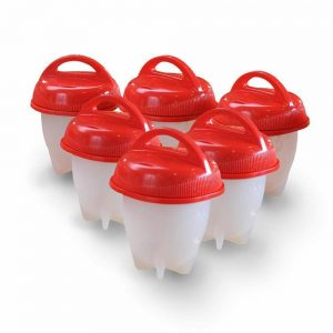 EGGITO ™ : HARD BOILED EGGS WITHOUT SHELL (PACK 6PCS)