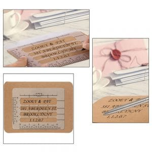 4Pc Envelope Addressing Craft Guide