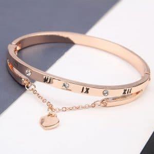 Heart Forever Love Charm Bracelet