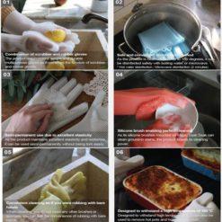 MAGLOVE™ : Magic Silicone Dish Washing Glove (1 PIECE)