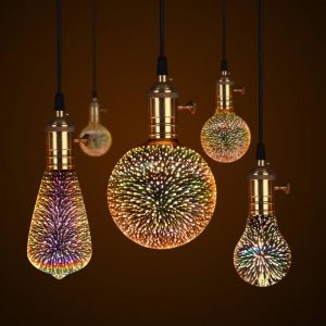 3D GALAXY BULB™ COSMIC LED