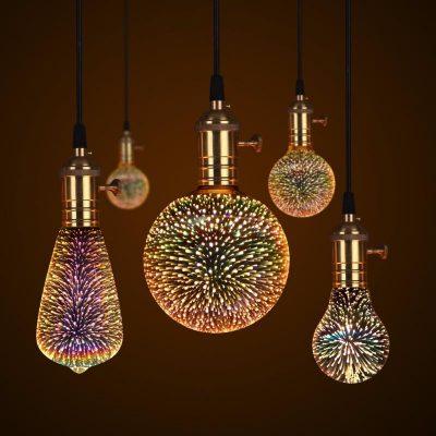 3D GALAXY BULB™ COSMIC LED