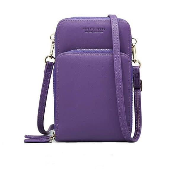 Multi-Pocket Crossbody Phone Bag