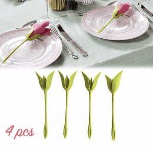 Flower Napkin Holder (4pcs)