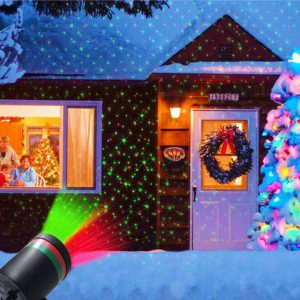 Laser Fairy Light Projection