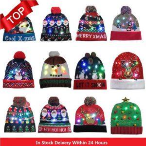 CRAZY CHRISTMAS LED HAT