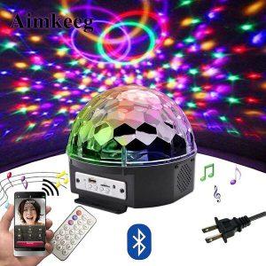 LED Bluetooth Speaker Disco Ball