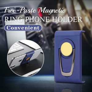 Free-Paste Magnetic Ring Phone Holder