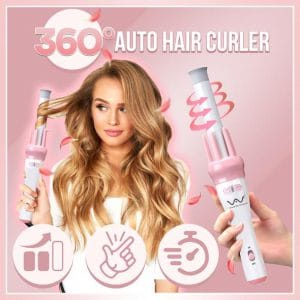 360° Auto Hair Curler