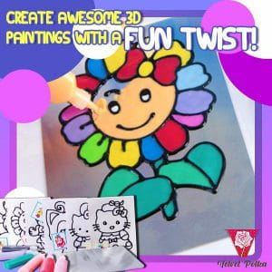 3D Crystal Glue Artwork Set