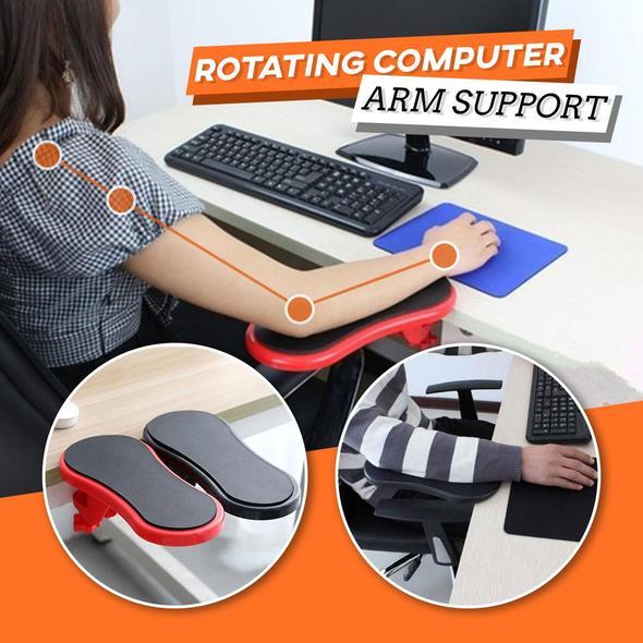 Rotating Desk Armrest Support