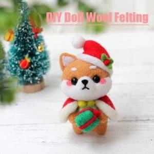DIY Doll Wool Felting
