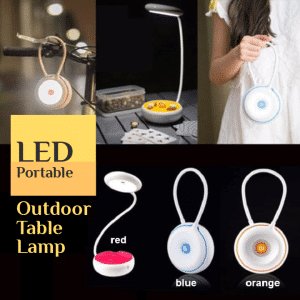 LED Portable Outdoor Table Lamp