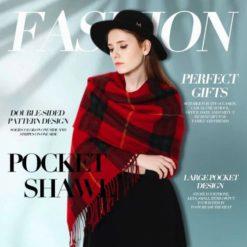 Cashmere Soft Pocket Shawl
