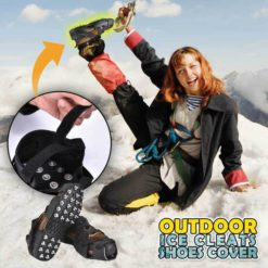 Outdoor Ice Cleats Shoes Cover