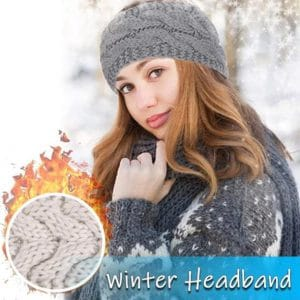 Women Winter Knitted Headbands