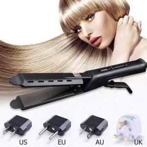 BaByTIless®Ceramic Tourmaline Ionic Flat Iron Hair Straightener