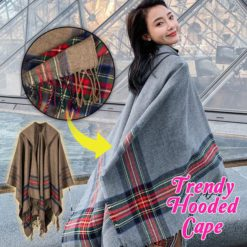 Trendy Hooded Cape