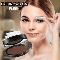 3 Shapes Flawless Waterproof Eyebrows Stamp