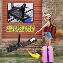 3-In-1 Digital Scale Suitcase Belt