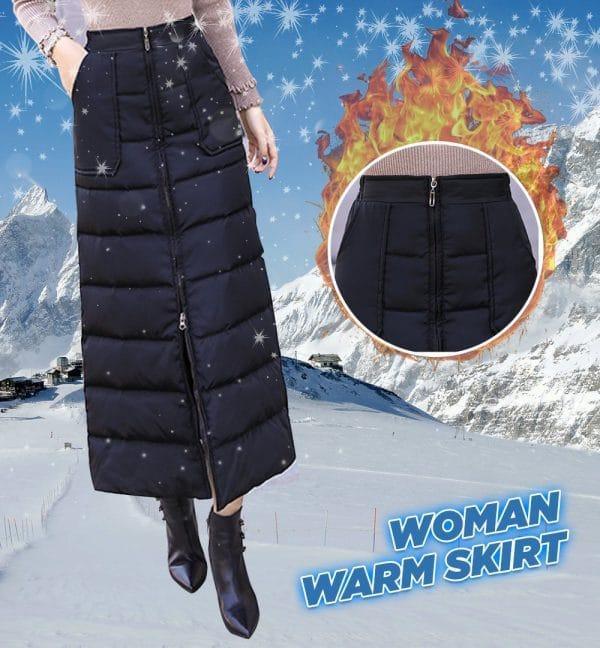 Woman Warm Down Skirt