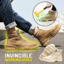 Invincible Working Shoes