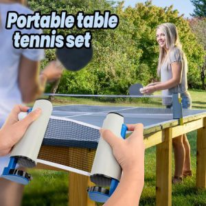 Portable Table Tennis Set