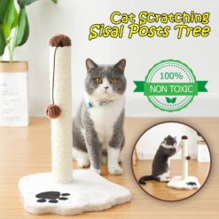 Cat Scratching Sisal Posts Tree