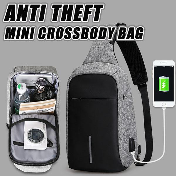 Anti-Theft Mini Crossbody Bag