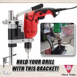 Adjustable Drill Router Bracket
