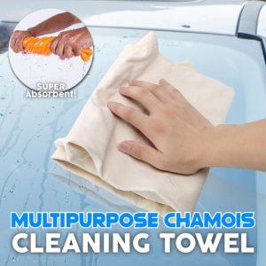 Multi-Purpose Chamois Cleaning Towel (2pcs)