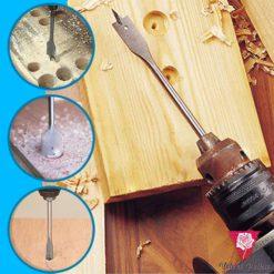 Hexagonal Spade Wood Drill Bit Set