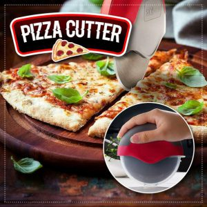 Pizza Cutter Wheel with Protective Blade Guard