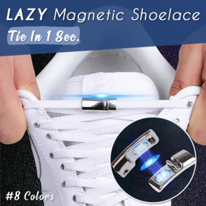 Lazy Magnetic Shoelace