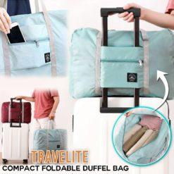 TraveLite Compact Foldable Duffel Bag