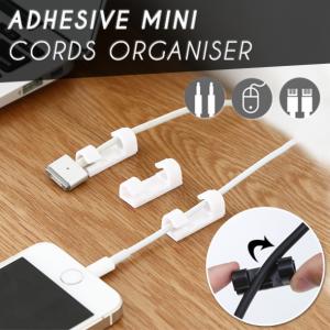 Adhesive Mini Cords Organiser