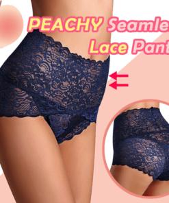 PEACHY Seamless Lace Panties