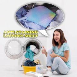 Anti-Staining Laundry Sheet - 24PCS