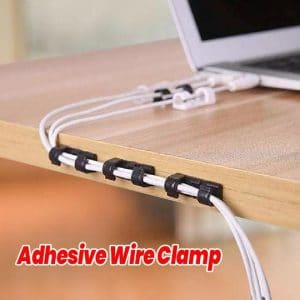 adhesive-wire-clamp