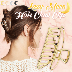 Lazy Moon Hair Claw Clip